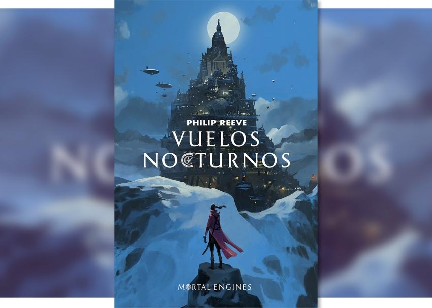 """""""Vuelos Nocturnos"""": La antología de la heroína Anna Fang previo a los sucesos de """"Máquinas Mortales""""."""